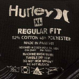 Hurley Shirts - Hurley XL thermal